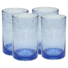 <strong>Artland</strong> Iris Highball Glass in Light Blue (Set of 4)