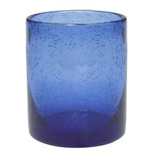Iris Double Old Fashioned Glass in Cobalt Blue (Set of 4)