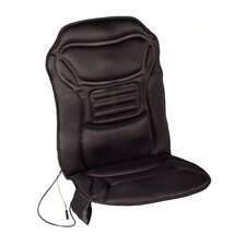Six Motor Massaging Seat Cushion in Black