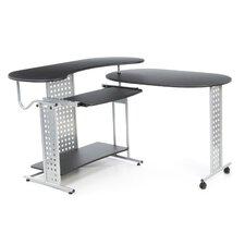 Regallo Expandable 'L' Computer Desk