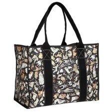 Cats and Dogs Nylon Rip Stop Big Tote Bag