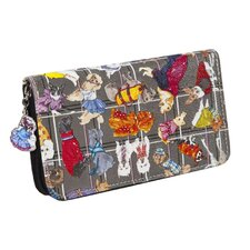<strong>Sydney Love</strong> Diva Dogs Zip Around Wallet