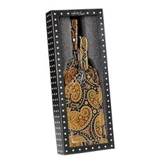 Paisley Print Luggage Tags