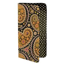 Paisley Print Passport Holder