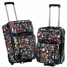 Wardrobe 2 Piece Luggage Set