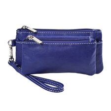 Head Over Heels Double Zip Clutch