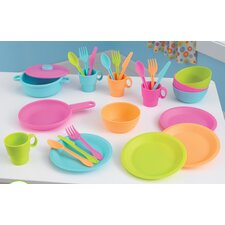 <strong>KidKraft</strong> 27 Piece Bright Kids Cookware Set
