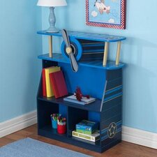 "Airplane 31.55"" Bookcase"