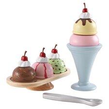 8 Piece Ice Cream Sundae Set