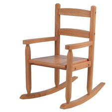 Kid's 2 Slat Rocking Chair