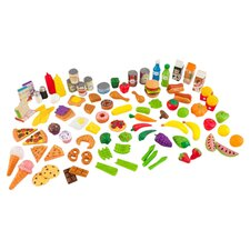 Tasty 105 Piece Play Food Set