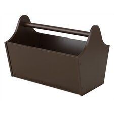 Toy Box Caddy in Chocolate Brown