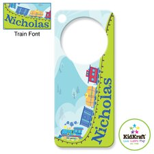 <strong>KidKraft</strong> Personalized Train Door Hanger