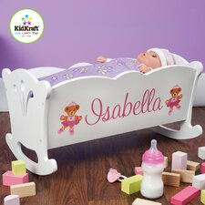 <strong>KidKraft</strong> Personalized Doll Cradle Doll Furniture
