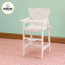 <strong>KidKraft</strong> Tiffany Bow Lil Doll High Chair