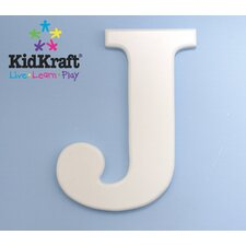 "Wooden Letter ""J"" Hanging Initials"