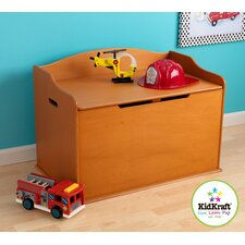 Personalized Austin Toy Box in Honey