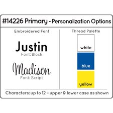 """Personalized Primary Sling 28"""" Book Display"""