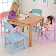 Seaside Kids' 5 Piece Table and Chair Set