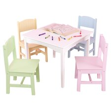 Nantucket Kids' 5 Piece Table & Chair Set