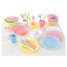 <strong>KidKraft</strong> 27 Piece Kitchen Play Set