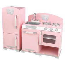 Retro Kitchen & Refrigerator