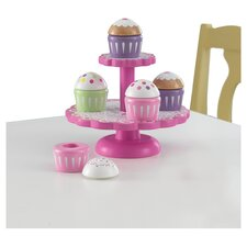 Cupcake Stand with Cupcakes
