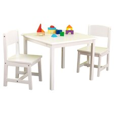 Aspen Kid's 3 Piece Table & Chair Set