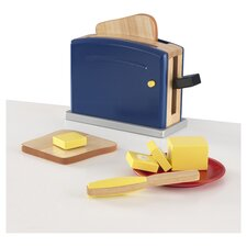 <strong>KidKraft</strong> 9 Piece Primary Toaster Set