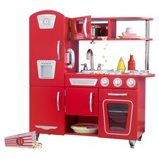 <strong>KidKraft</strong> Personalized Red Vintage Kitchen