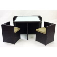 Aruba 5 Piece Dining Set