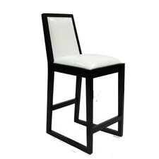 "Obliq 26"" Stationary Barstool"