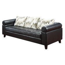 Vasken Leather Sofa
