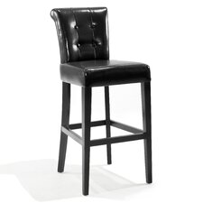"Urbanity Sangria 26"" Bar Stool with Cushion"