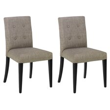 <strong>Armen Living</strong> Urbanity Wall Street Side Chair (Set of 2)