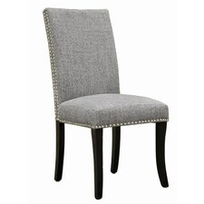 <strong>Armen Living</strong> Accent Nail Side Chair (Set of 2)