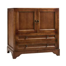 "Traditions Milano 36"" W Bathroom Colonial Cherry Vanity Base"