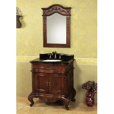 "Vintage Bordeaux 30"" Bathroom Vanity Set"
