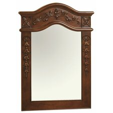 Bordeaux Solid Wood Frame Mirror