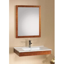 "Modular Adina 31"" Wall Mount Wood Bathroom Vanity Set"