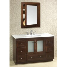 "Modular 48"" Single Bathroom Vanity Set"
