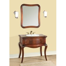 "Vintage Corsica 36.75"" Bathroom Vanity Set"