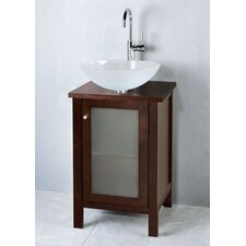 "Contempo Cami 19"" Single Bathroom Vanity Set"