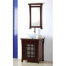 "Shoji 27"" Single Bathroom Vanity Set"