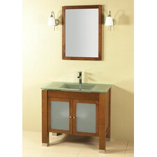 "Modular Pomona 37"" Single Bathroom Vanity Set"