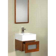 "Modular Rebecca Drawer 18"" Bathroom Vanity Set"