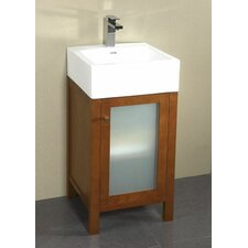 "Contempo Cami 18"" Single Bathroom Vanity Set"