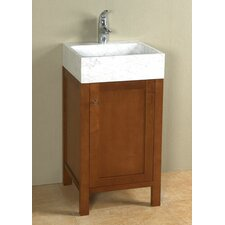 "Contempo Mica 17"" Single Bathroom Vanity Set"