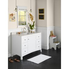 "Hampton 48"" Wood Vanity Set"