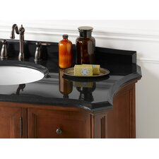 "Vintage 54"" Vanity Top with Undermount Sink Cutout"